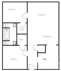 simple two bedroom house plans redoubtable simple two bedroom house design 14 simple 2 bedroom