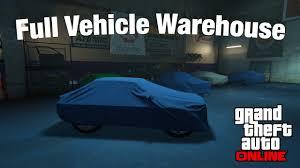 gta online full vehicle warehouse underground garage tour gta online full vehicle warehouse underground garage tour import export dlc
