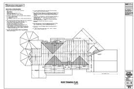Typical Floor Framing Plan by Design Directive Residential Design Sample Drawings