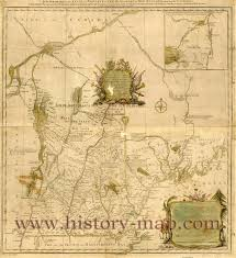 Old Map South America by Lower South America