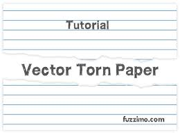 tutorial vector c illustrator tutorial make a vector torn paper fuzzimo