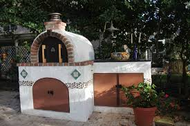 the peterson family wood fired brick pizza oven in florida