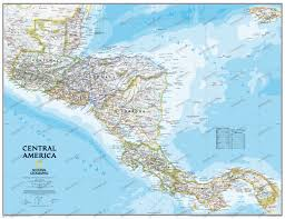 Central America And Caribbean Blank Map by Central America Political Map Mapsofnet Political Map Of Central