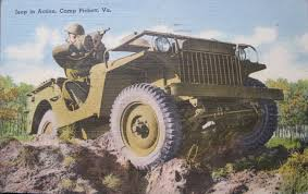wwii jeep in action artists drawings ewillys page 10