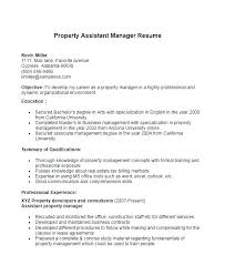 property manager resume property manager resumes