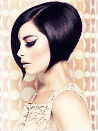 how to do a wedge haircut on yourself angled short wedge haircuts salon design pinterest bobs