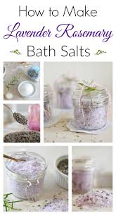 how to make lavender rosemary bath salts town country living diy lavender rosemary bath salts
