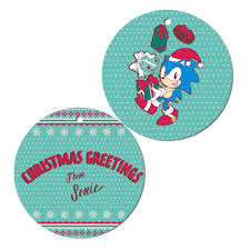 sonic greetings ornament sega shop