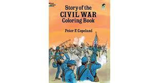 story civil war coloring book peter copeland