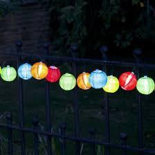 solar string lights solar lantern garden lights