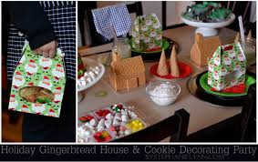 Christmas Cookie Decorating Kit Holiday Gingerbread House U0026 Cookie Decorating Party For The Kids