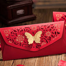 6 laser cut butterfly money envelopes crafts and