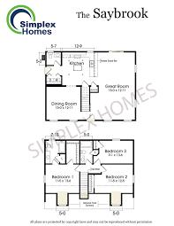 simplex homes saybrook cape modular home