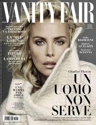 Magazine Vanity Fair Charlize Theron U2013 Vanity Fair Magazine Italy 9th November 2016