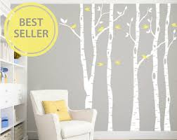 Removable Wall Decals For Nursery Birch Wall Decal Etsy