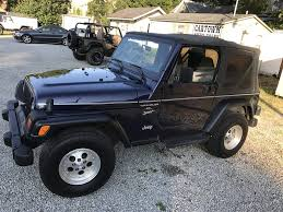 jeep wrangler unlimited sport blue blue jeep wrangler in georgia for sale used cars on buysellsearch