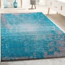 wohnzimmer türkis designer teppich wohnzimmer mit splash muster vintage optik in