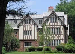 Tudor Style Homes Decorating by Tudor Style Mansion Detail Windows Stock Photo Shutterstock