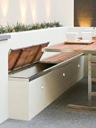Storage Bench Seat Design by Multi Award Winning Courtyard Design Diy Design Storage Benches