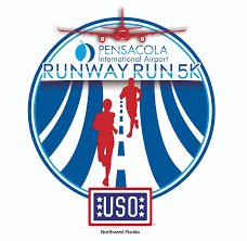 Map Pensacola Florida by Pensacola International Airport Runway Run 5k Running Wild
