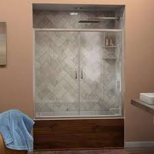 Interior Glass Door Designs by Shower Doors Showers The Home Depot