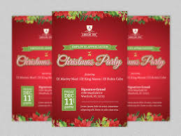 office party flyer mesmerizing office christmas party flyer templates 51 on card