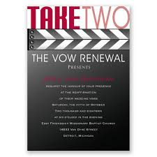 vow renewal invitations take two vow renewal invitation invitations by