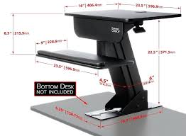 walmart stand up desk computer stand up desk two tier electric 60 inch store evolution