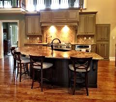 kitchen island with attached table kitchen islands with attached table smith design top kitchens