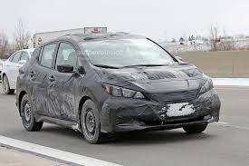nissan leaf 2017 2018 nissan leaf to debut in september goes on sale before year u0027s