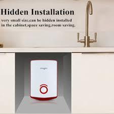 kitchen water heater tap tubing tankless electric sink washroom