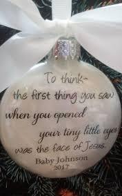baby memorial ornament in memory by shopcreativecanvas