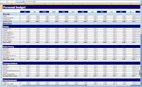 Household Expense Spreadsheet Monthly And Yearly Budget Spreadsheet Excel Template