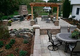 Patio Landscape Design Outdoor Patio Designs Grand Meadow Mn Landscaping And Landscape