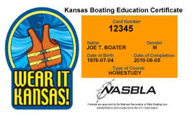 kansas boater education cards certificates boat ed