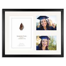 graduation frame black wooden graduation frame for a4 certificate and two 7x5 5x7in pho