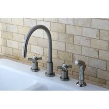 widespread kitchen faucet kingston brass millennium widespread kitchen faucet reviews