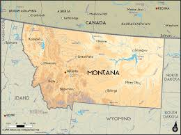 Map Of Montana With Cities by Montana Map Usa Map Travel Holiday Vacations