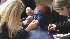 Makeup Artist In Long Island Jennifer Lawrence U0027x Men U0027 Mystique Makeup Process Business Insider
