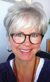 short hair for 60 years of age best 25 short gray hairstyles ideas on pinterest short gray
