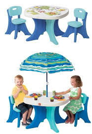 children s outdoor table and chairs step2 play patio set