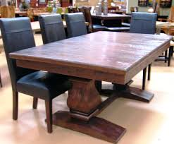 extendable dining room table expandable dining room table dining room masculine brown teak wood