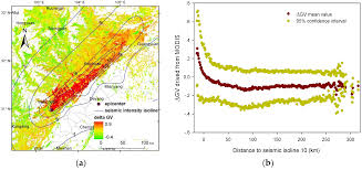Isoline Map Definition Remote Sensing Free Full Text Assessing Earthquake Induced