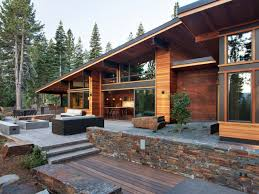 beautiful modern mountain home designs gallery decorating design
