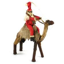 santa on a camel christmas tree ornament one city ministries