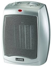 desk space heater amazon com lasko 754200 ceramic heater with adjustable thermostat
