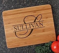 cutting board wedding gift buy personalized monogram wood cutting board wedding gift