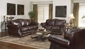 omnia furniture tahoe leatherseat sofa living room wayfair