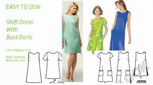 dress pattern without darts pintucks 9 best dress patterns for beginners easy to sew