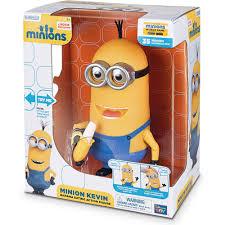 minion kevin banana eating action figure walmart com